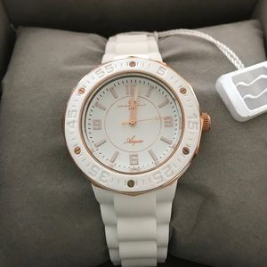 Oceanaut Accessories - BNWT Oceanaut Acqua White with Rosegold Watch