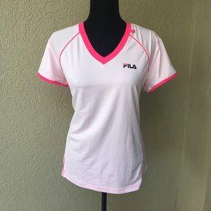 Fila Tops - Fila sport pink workout top w/tech built in