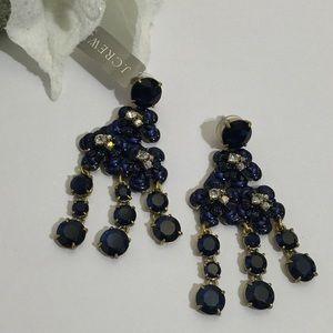 J. Crew Jewelry - J.CREW Midnight Floral Fantasy Earrings