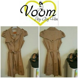 Voom by Joy Han Jackets & Blazers - SALE!!  Voom by Joy Han Pinup Style Trench Coat