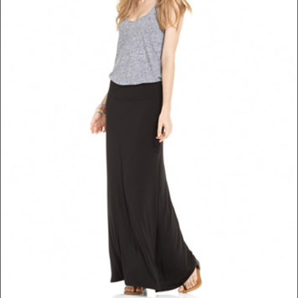 a.n.a Dresses & Skirts - A black maxi skirt  casual or for dress up!!!