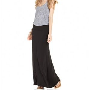 A black maxi skirt  casual or for dress up!!!