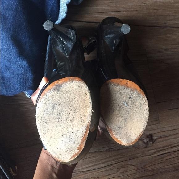 Lanvin Shoes - 🎉Lanvin | black Lucite Perspex  36 / 6