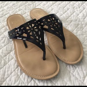 new directions Shoes - Navy Blue Sandals
