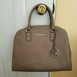 New Michael Kors Taupe Bag! Authentic!