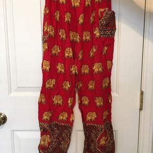 elephant pants Pants - Harem elephant pants