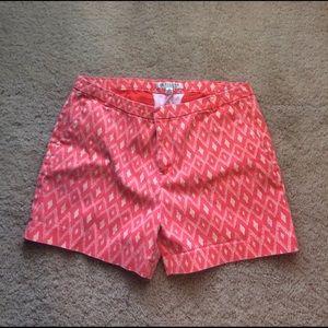 Pants - Shades of orange shorts. Size 8