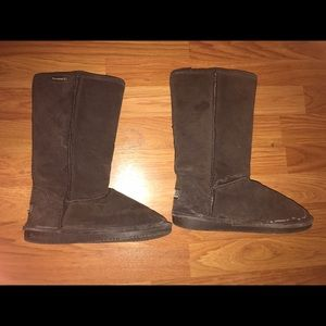 BearPaw Shoes - Brown bear paw boots