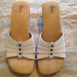 Bass Shoes - Bass Slipon block heel sandal use 8M