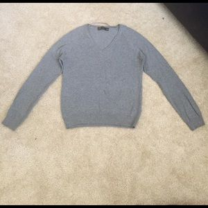 Zara Sweaters - Zara Gray V neck Sweater