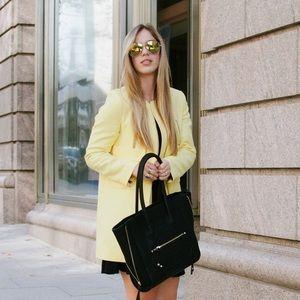 Zara Jackets & Blazers - Yellow Zara coat