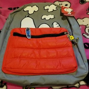 PEANUTS Other - **BRAND NEW** SNOOPY & WOODSTOCK BACKPACK