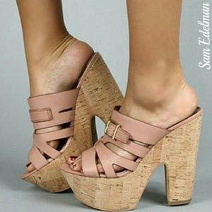 Sam Edelman Shoes - 🔥{Sam Edelman} blush leather sandals