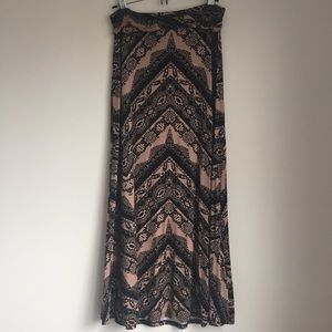 Bobeau Dresses & Skirts - NORDSTROM Bobeau Boho Printed Maxi Skirt