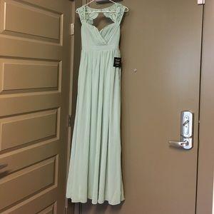 Lulus Mint Formal or Prom Maxi Dress