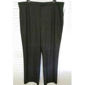 East 5th Pants - Plus size dark grey pants with a very nice texture