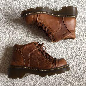 Dr. Martens Shoes - Brown Yolanda Doc Marten Boots
