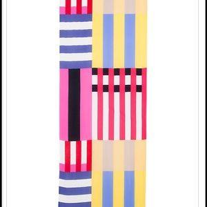 ♠️ Kate Spade Multi Stripe Oblong Scarf  ♠️