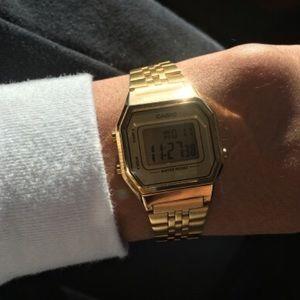 Casio Accessories - All Gold Casio Watch