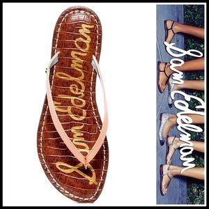 SAM EDELMAN SANDALS Patent Sandals Flats