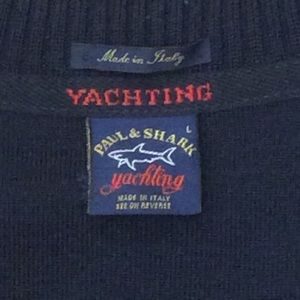 Paul & Shark Other - Paul & Shark Yachting v-neck sweater made in Italy