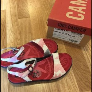 Camper Shoes - Brand new in box. Camper sandals size 9