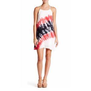 Peach Love California Dresses & Skirts - Tie Dye Gauze Dress