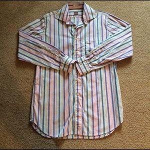 Peter Millar Other - Peter millar multi colored dress shirt medium