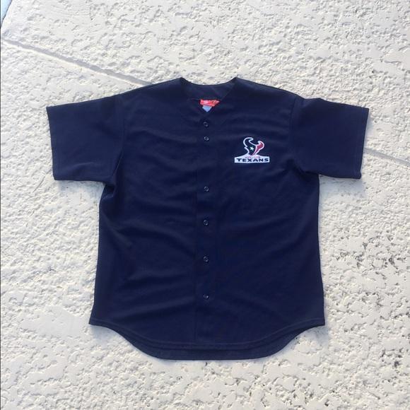 premium selection 8ae58 6628c Houston Texans Baseball Jersey