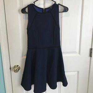 Black and Blue Formal Dress