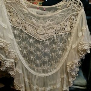 Other - Crochet  &  Bohemian Cover up!!!!
