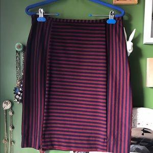 Merona Dresses & Skirts - Merona Striped Pencil Skirt