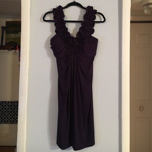 Plum purple dress