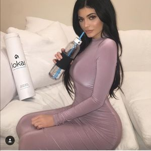 Popular extra small dress  Mauve as seen on Kylie