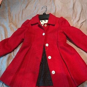 Other - Red girls Peacoat