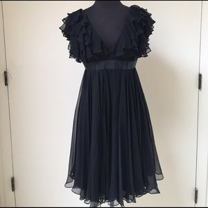 Marchesa Dresses & Skirts - Marchesa Notte Black Flowy Dress