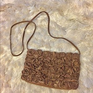 Max & Co. Handbags - Beautiful Max & Co rose-motif embellished purse
