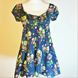 Jack Wills Dresses & Skirts - ️Jack Wills Floral Babydoll Dress/Tunic