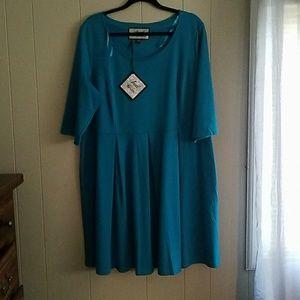 Angel Ribbons Dresses & Skirts - Simply be Angel ribbons skater dress sz. 18 nwt