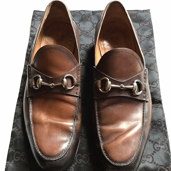 c686153281d Gucci Other - Gucci Jordaan leather loafer size 8