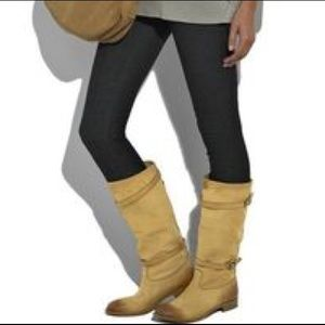 Belstaff Shoes - Belstaff Shannon Buckled Leather Boot