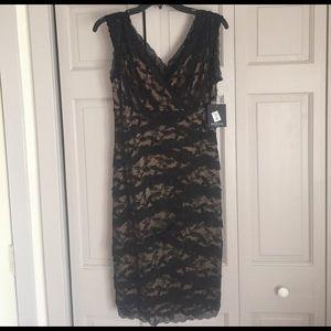 Marina Rinaldi Dresses & Skirts - NWT Black beaded dress
