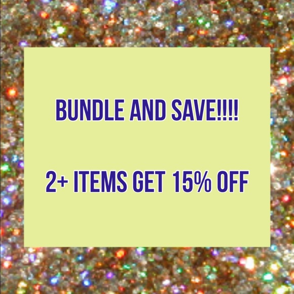 Other - 💕💕Bundle and SAVE!!! 15% off two items!!! ☀️✨☀️✨