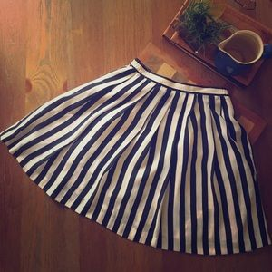 Vintage Striped Skirt