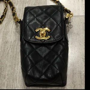 CHANEL Handbags - Authentic CHANEL Crossbody Bag Black Hard to Find!