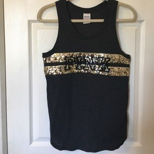 Like New! PINK VS Sequins Tank