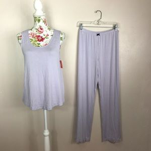 Gilligan & O'Malley Other - Two-piece light purple pajama set
