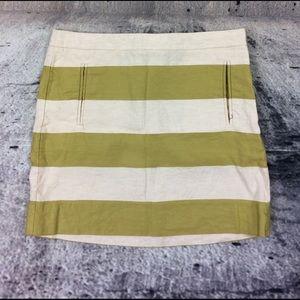 J. Crew Dresses & Skirts - J Crew stripped mini skirt