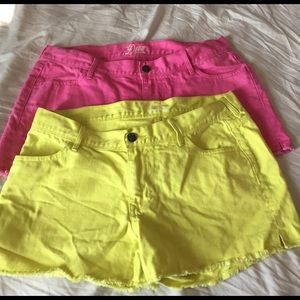 Old Navy Pants - Colorful Cut-Off Shorts Bundle