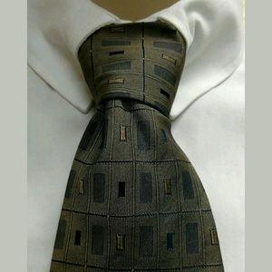 """Piattelli Other - Piattelli Silk Necktie 56"""" Brown"""